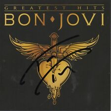 BON JOVI - personally signed GREATEST HITS - CD cover - drummer TICO TORRES