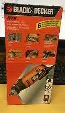 Black & Decker RTX-B 3-Speed Rotary Tool Cutting Carving Sanding Engraving New