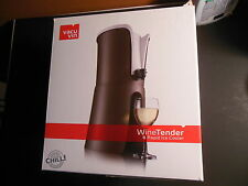 Vacu Vin Wine Tender with Rapid Ice Cooler 1.5-3.0 L Bronze / White New