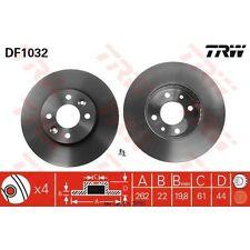 Disque de frein, 1 unités trw df1032