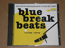 BLUE BREAK BEATS VOL. 3 (CANNONBALL ADDERLEY, SHIRLEY BASSEY, DONALD BIRD) - CD