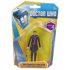 Doctor Who Wave 4 12th Doctor In Purple Shirt Action Figure NEW Toys Dr Who