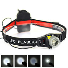 Boruit 1200LM LED Headlamp Linterna Frontal Lámpara Luz Faro AAA Headlight Torch