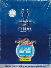 2015 Panini Adrenalyn Champions League Update Factory Sealed 50 Pack Booster Box