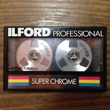 Ilford Super Chrome C46, Metal Reel Cassette Tape, Sealed