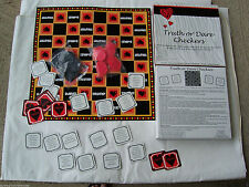 TRUTH OR DARE INTIMATE VALENTINES DAY CHECKER BOARD GAME GET YOUR PASTIES OUT