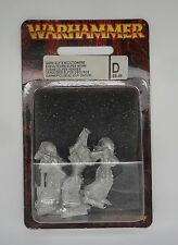 Warhammer Fantasy Metal 6th Edition DARK ELF EXECUTIONERS x3 IN BLISTER PACK