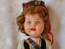 VINTAGE WALKING RODDY DOLL 13 INCH SCOTTISH MADE IN ENGLAND