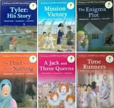 NEW SET of 6 Stage 12 +  TIME CHRONICLES OXFORD READING TREE Time Runners