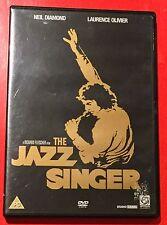FABULOUS DVD NEIL DIAMOND THE JAZZ SINGER REGION 2 LAURENCE OLIVIER 116mins1980