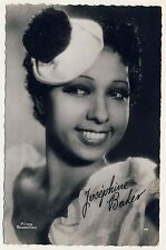 Nude Dancer Josephine Baker cabaret music hall * VINTAGE 30s French Photo PC