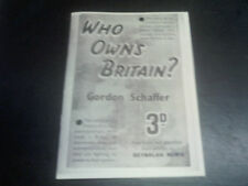 Who owns Britain.