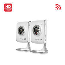 Funlux 2 720p IP Network Indoor IR Night Vision Wireless Security Camera System