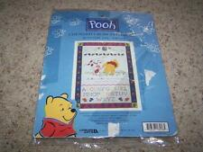Leisure Arts POOH BLUSTERY DAY SAMPLER Counted Cross Stitch Kit #113218