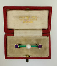 A Magnificent Carlo & Arthur Giuliano Suffragette Bar Brooch Circa 1911