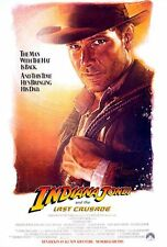 """INDIANA JONES AND THE LAST CRUSADE 1989 Advance Teaser 27x40"""" US Movie Poster"""