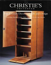 Christie's Amsterdam 20th Century Decorative Arts Design de Bazel Copier Berlage