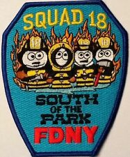 SOUTH PARK FIRE DEPT FDNY NEW YORK FIRE DEPT SQUAD 18 NYFD