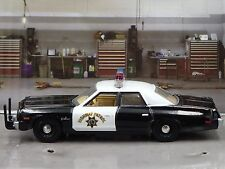 1974 DODGE MONACO CALIFORNIA HIGHWAY PATROL CHP RARE 1/64 COLLECTIBLE MODEL