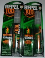 2QTY Repel 100 Insect Bug Repellent Maximum Strength Deet Spray Pump Pen New NIP