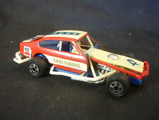 Old Vtg 1976 Ideal Collectible Plastic 5A-1713 X9 Race Racing Car
