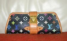 AUTHENTIC, CUTE, CLASSIC AND FUN LOUIS VUITTON MULTI COLOR CLUTCH/HAND BAG