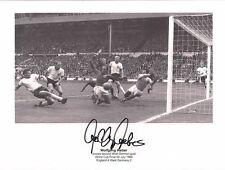 Wolfgang Weber SIGNED scoring World Cup 1966 PROOF Final Germany England 66 CoA