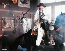 """TOMBSTONE - Kurt Russell Reprint  8"""" x 10""""  AUTOGRAPHED Color TOMB-K04"""