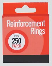 NEW BOX 250 REINFORCEMENT RINGS PAPER