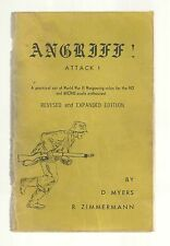 Z & M Enterprises Angriff Attack World War II for HO and Micro Scale 4th edition
