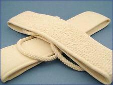 Soft Natural Fiber Back Exfoliator Scrubber-Eliminate Acne/Rough Skin/Blackheads