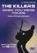 10 Minute Teacher The Killers When You Were Young Learn TAB Guitar DVD