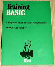 C. Prigmore - TRAINING BASIC + Lösungsheft - Mikrocomputer - 2. Auflage 1985