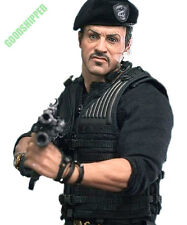 HOT TOYS THE EXPENDABLES 2 BARNEY ROSS SYLVESTER STALLONE 1/6 MISB NEW MMS194