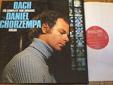 6700 059 Bach Trio Sonatas / Chorzempa 2 LP box