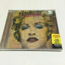 Madonna Celebration 2 CD 2009 hung up erotica RARE INDIA HOLOGRAM NEW sticker