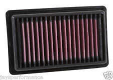 Kn air filter (33-3043) Para Smart Fortwo/Cabrio (450/451) 0.9 2014 - 2016