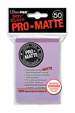 50 ULTRA PRO Pro-Matte Deck Protector Card Sleeves Magic Standard 84504 Lilac