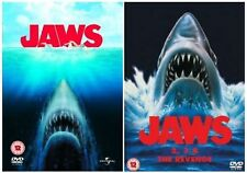 JAWS Anthology Complete DVD Movie Collection Set Part 1 2 3 4 Revenge New Sealed