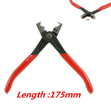 Car SUV Metal Hose Clamp Pliers Tool Click R Type Collar Clamp Swivel Clip Angle