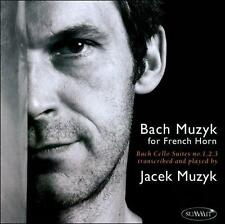 FREE US SH (int'l sh=$0-$3) ~LikeNew CD : Bach: Muzyk for French Horn