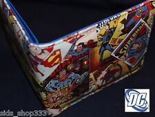 SUPERMAN Classic Covers bi fold wallet cosplay DC Comics US Seller great gift