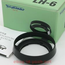 Voigtlander LH-6 Lens Hood for Nokton 35mm 40mm F1.4 From Japan