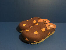 Ladies Scholl Heart Mules Sandals Size 3 New Without Box. Tried On Only.