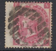 GB SURFACE PRINTED:1865 Emblems 3d rose plate 4-N-E  SG 92 used