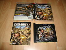 CALL OF DUTY 3 DE ACTIVISION PARA LA SONY PS3 USADO COMPLETO
