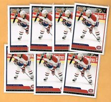 2003-04 Tomas Plekanec Rookie Lot of 7 Montreal Canadiens RC Pacific Complete