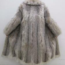 Pure LUXE Lynx Fur Coat  Sz 8 Lightweight Clean Val $12K Handmade USA SALE