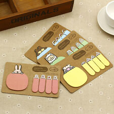 Convenience Carry-On Cute Animals Sticker Office Supplies Sticky Note 100pcs/lot