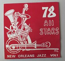 33 TOURS - JAZZ - 78 All Stars - New Orleans Vol 1 *